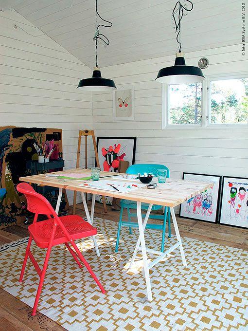Taller de pintura y dibujo para ni os habitaciones for Pintura para habitaciones