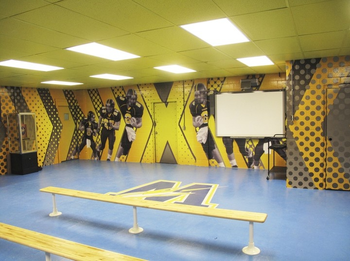 Gym Wall Ideas Everything Else Aquin Pinterest Wall