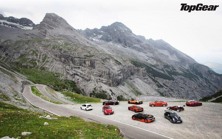 Top gear, суперкары, горы, дорога, porsche, 911, gt3 rs, bugatti, veyron, super sport, ariel, atom,  обои, картинки, фото