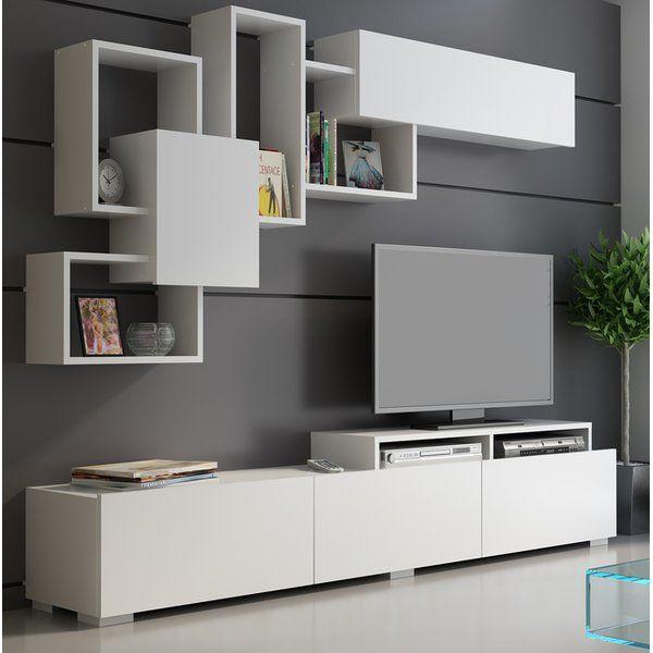 Gowen Entertainment Center Living Room Tv Unit Designs Living Room Design Modern Home Room Design