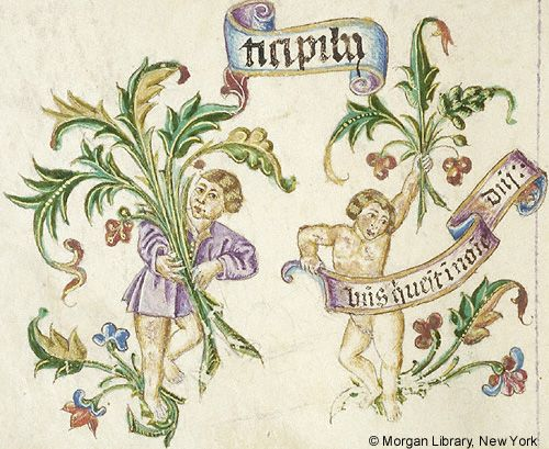 Missal, M.450 fol. 35v - Images from Medieval and Renaissance Manuscripts - The Morgan Library & Museum