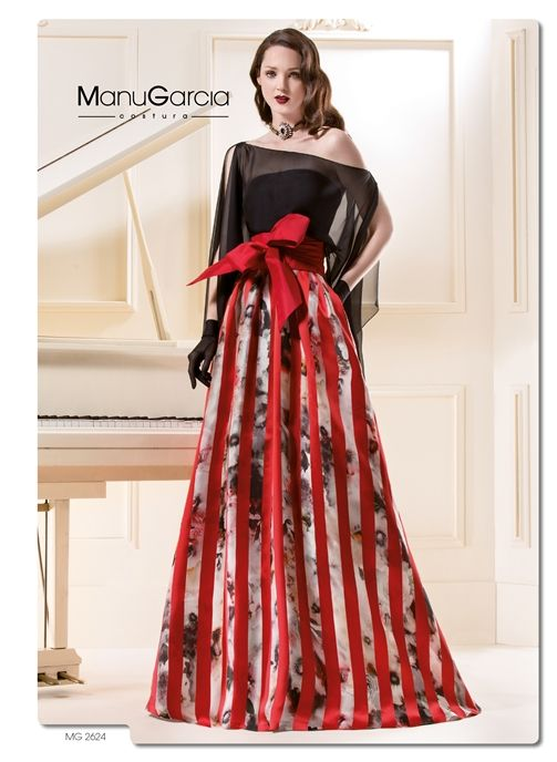 ... chiffon top... Holiday dress by Manu Garcia | Pinterest | Floral
