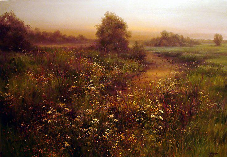 Новости: Чудесные цветочные пейзажи Ольги Одальчук
