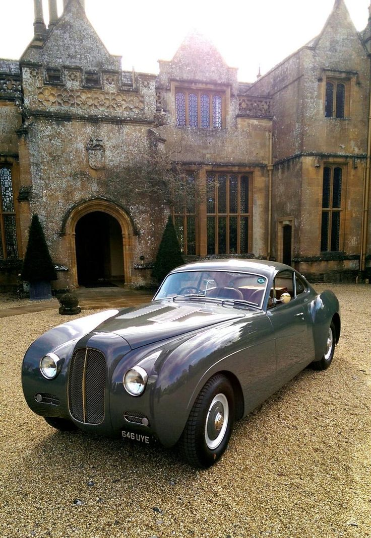 Marvelous The Classic British Car   1953 Bentley La Sarthe R Type Fastback