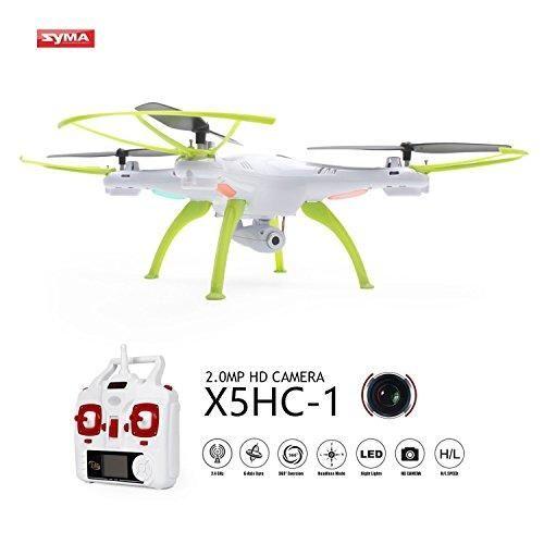Oferta: 45.99€ Dto: -49%. Comprar Ofertas de Drone con Cámara HD,Syma X5HC-1 Quadcopter Cuadricópteros con Control Remoto con Mantenimiento de Altura,Modo Sin-Cabeza y Ro barato. ¡Mira las ofertas!