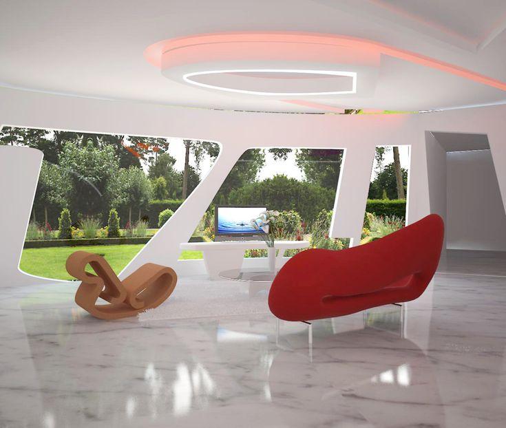 My signature house design ( Living Room )