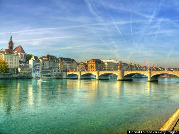 Considering a move abroad? Here are the top 10 places for expats in 2014. Pictured, Basel, Switzerland. Image by Richard Fairless.
