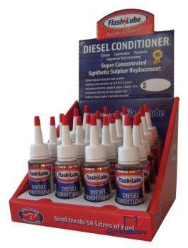 50 ml celoročního aditiva do nafty - Flashlube Diesel Conditioner