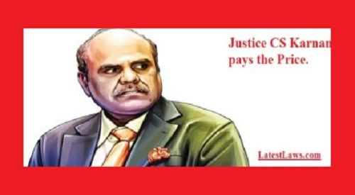 Now Justice Karnan threatens to prosecute Supreme Court Judges for issuing Contempt Notice to him