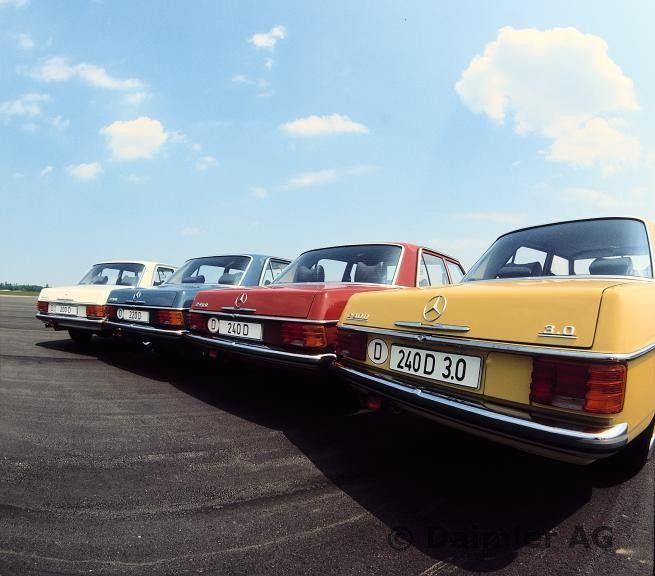Mercedes-Benz Typ 200 D, 220 D, 240 D, 240 D 3.0 der Baureihe 115