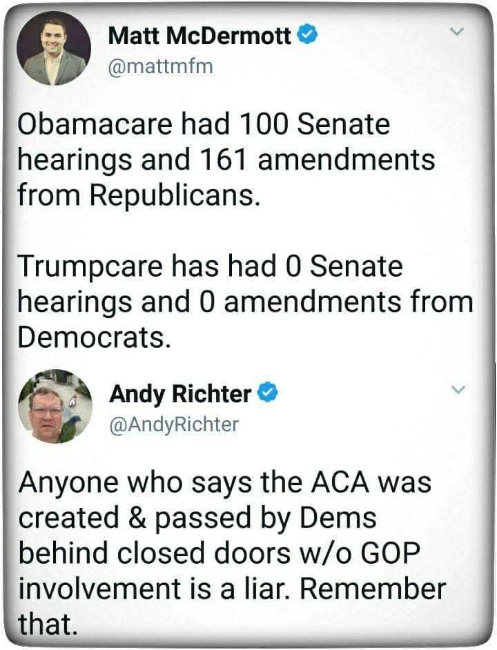 Evidently the GOP believes the US is now a dictatorship. Healthcare for women is being decided behind closed doors by 13 alt right white Repugnant's. Mammograms, pap smears, birth control and pregnancy not covered! Viagra is though!!!!Wtf!!!