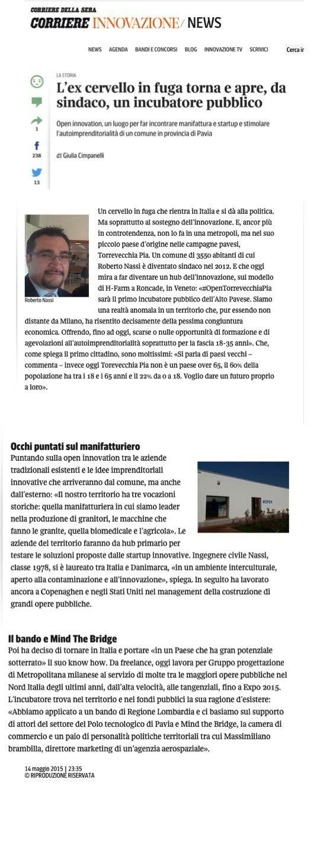 #OpenTvp #Roberto Nassi #startup…