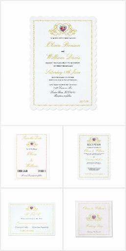 Wedding Stationery & Accessories Set 16
