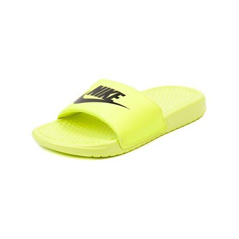 YouthTween Nike Benassi Slide, Yellow | Journeys Kidz