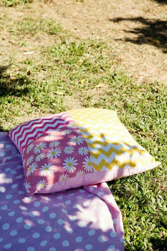 Picnic  Wedding cushions