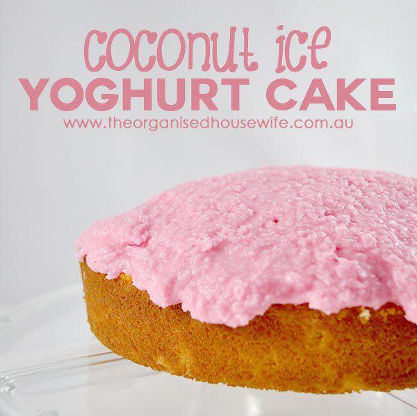 {The-Organised-Housewife}-Coconut-Ice-Yoghurt-Cake