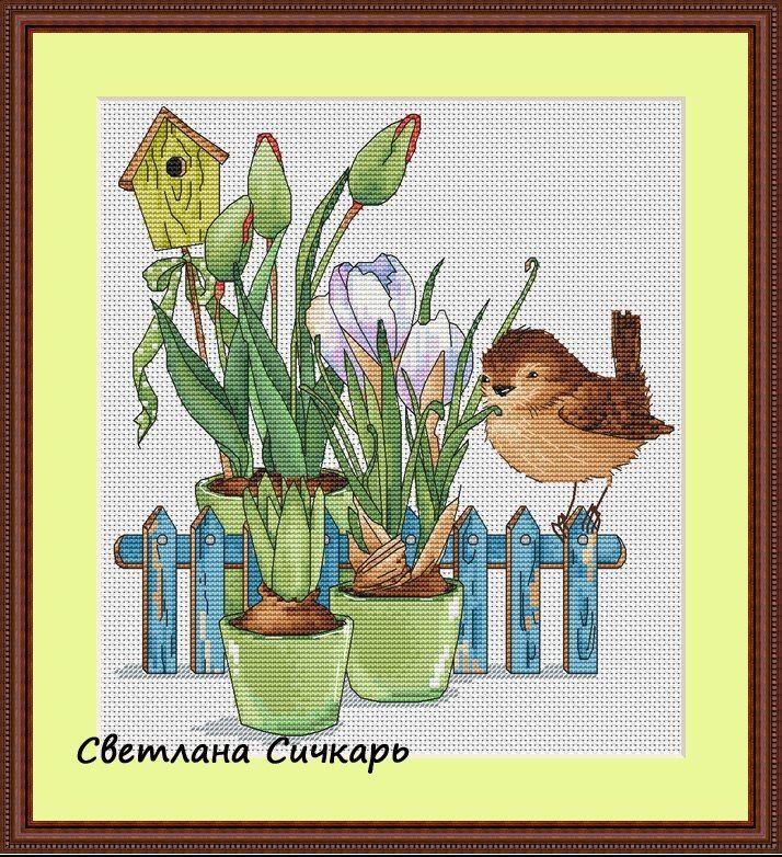 ЯРКАЯ - страница о рукоделии *** Предельно субъективно и интересно ***: Птички-невелички от Светланы Сичкарь