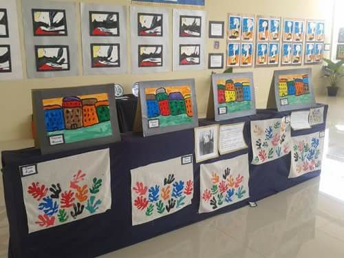Our Art week inspired by famous artists such as Warhol, Van Gogh, picasso and more.