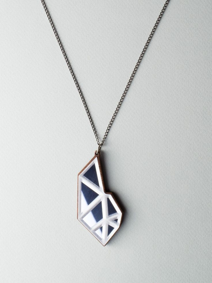 Hanging Mirror Necklace by Carla Szabo #jewelry #design #necklace