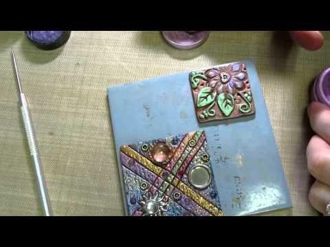 ▶ Clay Art Tile Tutorial Part 2 - YouTube