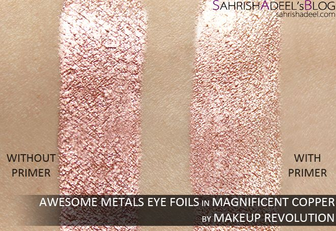 Awesome Metals Eye Foils by Makeup Revolution - Review & Swatches
