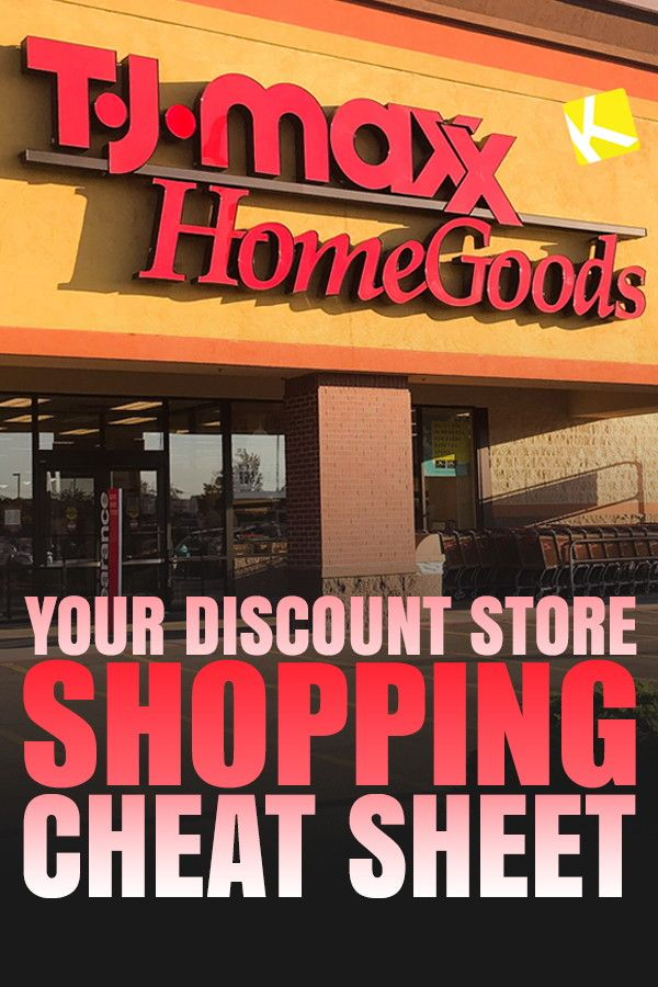 Your Ultimate Discount Store Shopping Cheat Sheet Shopping Hacks Discount Stores Frugal Shopping