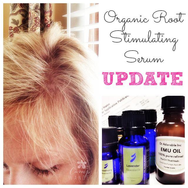 Organic Root Stimulating Hair Serum UPDATE