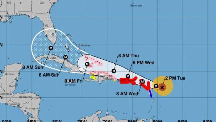 Huracán Irma- Fort Lauderdale Ruta tiempo y pronósticos proyectados - AhoraMismo.com