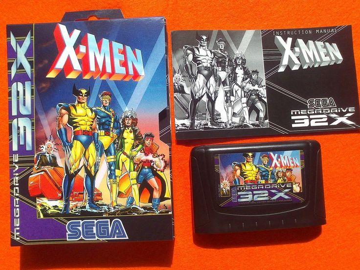 X-MEN Mind Games megadrive Sega 32x Pal version Like NEW