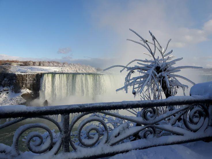 Niagara Falls, in winter. I love Canada!