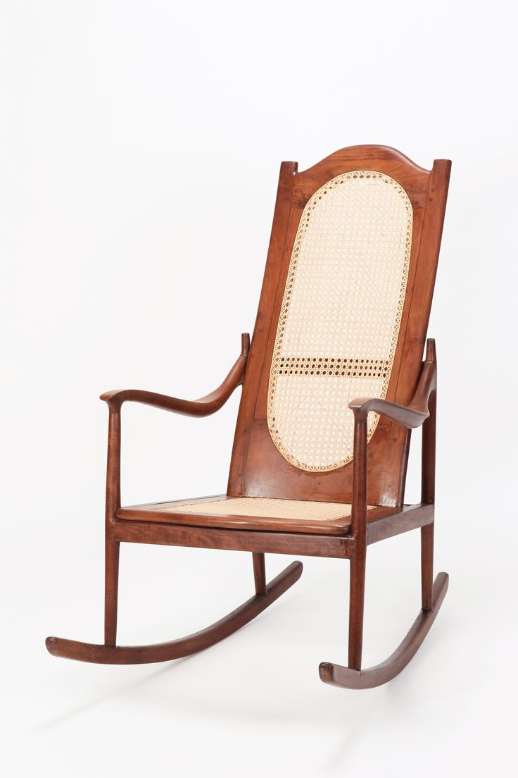 American Rocking Chair Mohagony 1890 Antique rocking