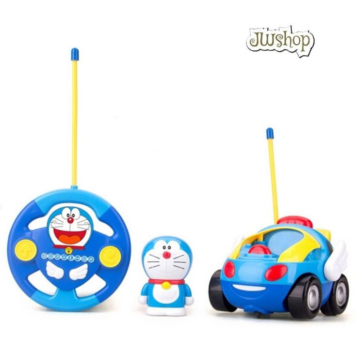 New Baby Boy Girl Doraemon Remote Control Electric Toys Musical Light Car Toys #Unbranded
