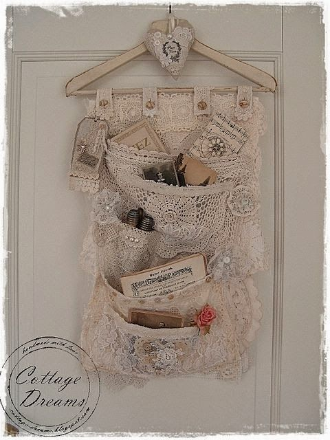 Jenny of ELEFANTZ: Ideas for using vintage linens...