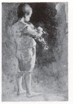 Francisco Antonio Cano Niño con violin