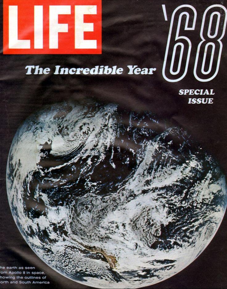Life January 10 1968 Life Cover Life Magazine Time