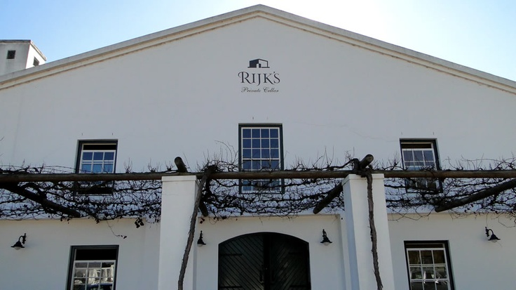 Wine Tasting in Tulbagh - South Africa   Rijk's Wine Estate