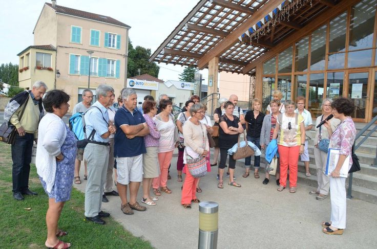 Dernière visite de la ville ce mardi 16 août.