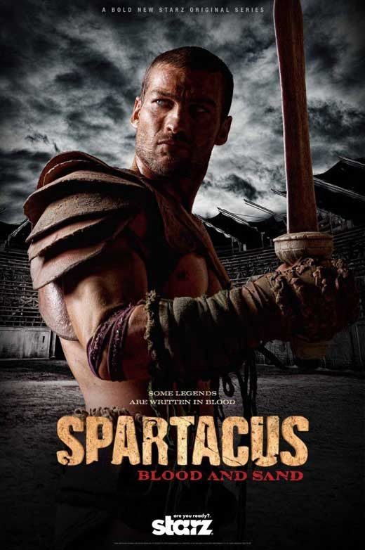 Spartacus: Blood and Sand 11x17 TV Poster (2010)