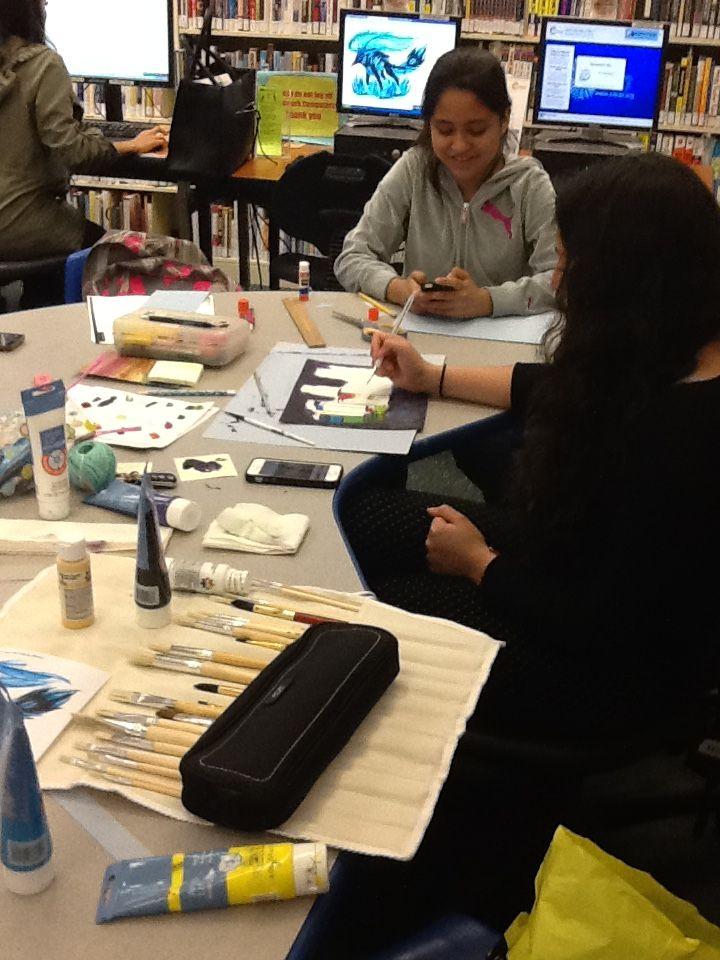 We're making our own books! #artsandcrafts #diy #bookart #diybook #diyjournal