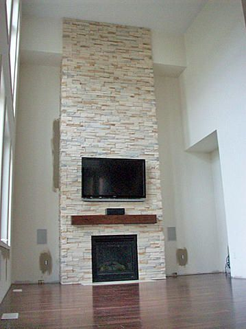 Indoor installation of ledgestone - Ceramic Tile Advice Forums - John Bridge Ceramic Tile
