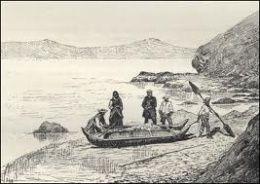 Los Changos se dedicaban a la pesca, actividad para la cual utilizaban balsas hechas con cueros de lobos marinos inflados.