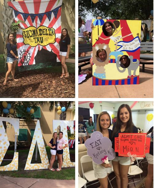 CIRCUS CUTE ~ under the ΣΔT big top • USF