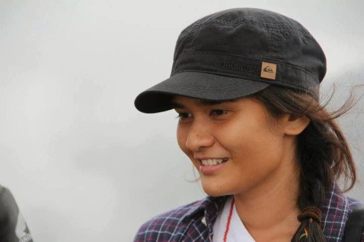 If 7 Divisi were a movie, Medina Kamil will have a role as Gitta. Climbing division.