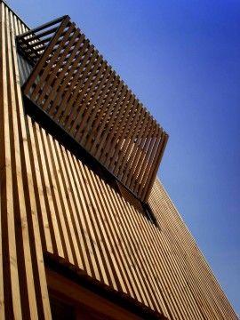 BRISE SOLEIL  Extension en bois HQE, Arcueil, T Design Architecture - Realisation