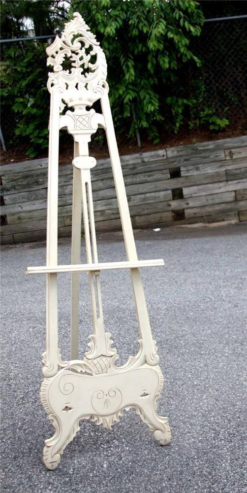 78 Floor Standing Decorative Wood Tripod Art Picture