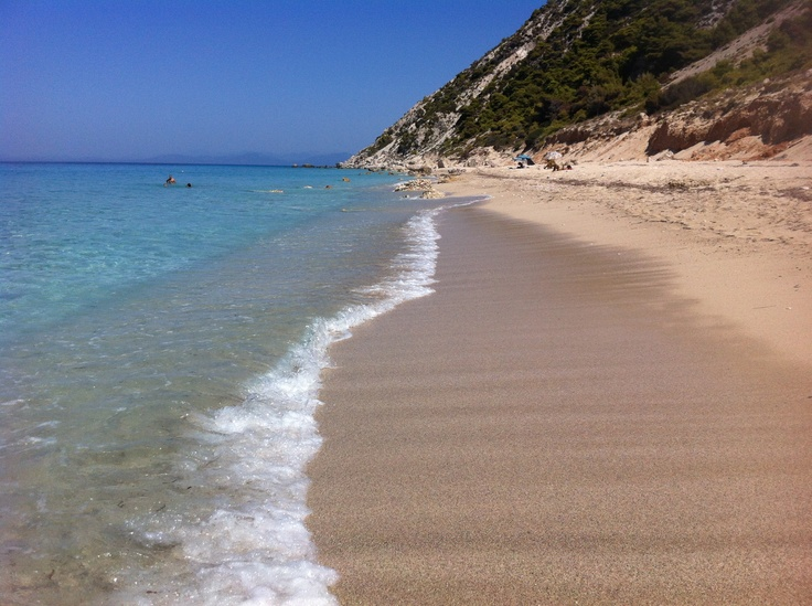 Pefkoulia beach, Lefkada, Greece