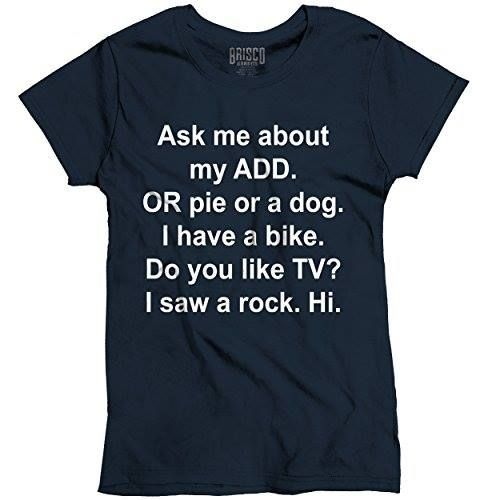 Shop https://goo.gl/D7YemT   Ask Me About My ADD Or Dog Funny T Shirt ADHD Cute Holiday Ladies T-Shirt    Price 13.99   Go to Store https://goo.gl/D7YemT  #Add #ADHD #Cute #Dog #Funny #Holiday #Ladies #Shirt #TShirt