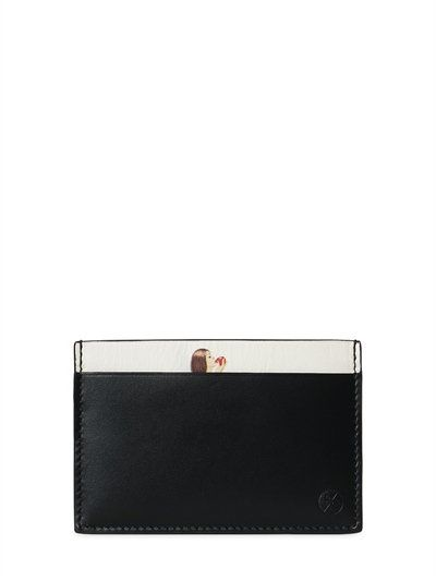 PAUL SMITH Pin Up Leather Card Holder, Black. #paulsmith #wallets