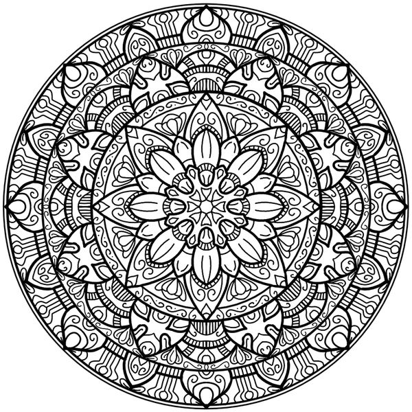 coloring pages adults circle - photo#8
