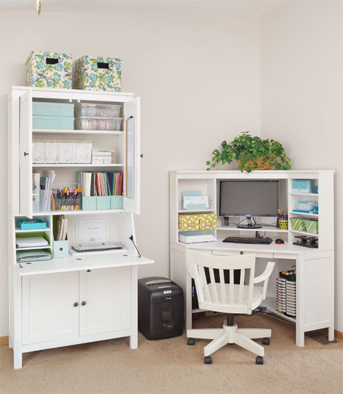 Desk Organization - How to Organize Your Desk - Woman's Day - Lorie M.